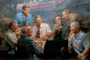 presidents-playing-cards
